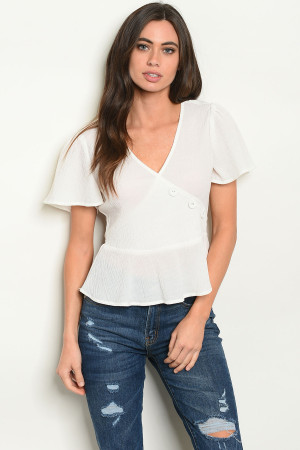 S17-8-2-T62681 OFF WHITE TOP 1-1-1