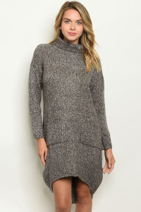 S15-3-2-D1907 CHARCOAL GREY SWEATER 3-2