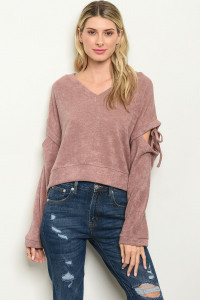 S10-14-4-T123594 MAUVE SWEATER 3-2-1