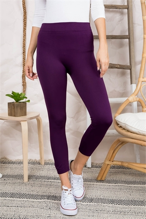 S21-4-4-FAB11802 PURPLE LEGGINGS / 10PCS