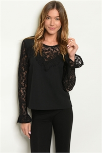 S15-12-3-T5622 BLACK TOP / 3PCS