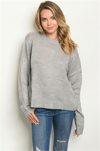 S16-10-1-S7002 GRAY SWEATER 2-2-2