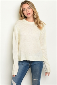 S16-10-1-S7002 IVORY SWEATER 2-2-2