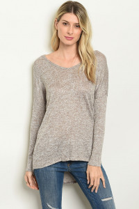 C22-B-1-T32069 TAUPE TOP 2-2-1