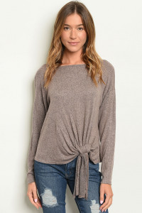 C102-B-5-T4380 TAUPE TOP 2-2-2