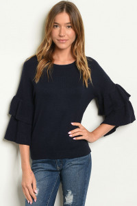 SA4-000-3-T2816 NAVY SWEATER 2-2-2
