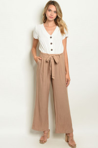 SA3-000-1-J4408 OFF WHITE MOCHA JUMPSUIT 2-2-2