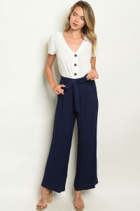 SA3-00-4-J4408 OFF WHITE NAVY JUMPSUIT 2-2-2