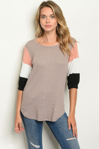 S14-10-4-T1759 TAUPE TOP 1-2-2-1