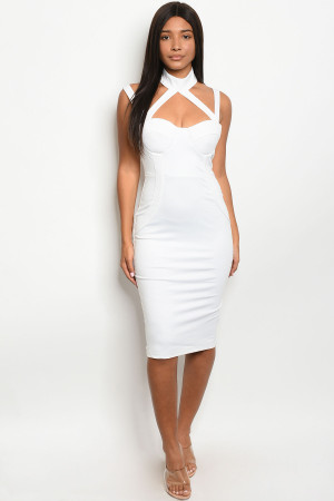 SA3-7-4-D70406 OFF WHITE DRESS 1-2-2-2-1