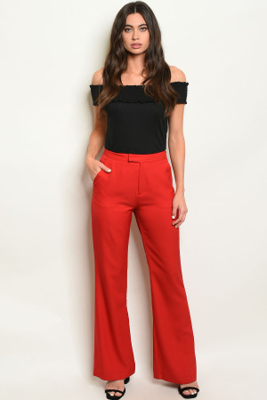 S20-2-3-P53095 RED PANTS 2-2-2