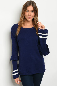 S20-3-3-S8040 NAVY SWEATER 2-2-2