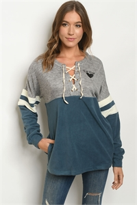 S23-8-1-S8611 GRAY TEAL SWEATER 1-2-2