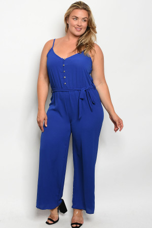 C30-A-3-J3069X ROYAL PLUS SIZE JUMPSUIT 2-2-2