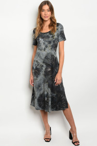 S9-20-1-D68695 BLACK TIE DYE DRESS 2-1-2