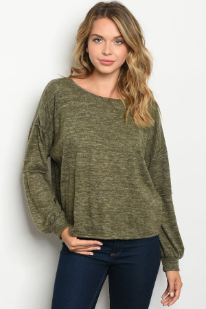 C52-A-1-T33536 OLIVE TOP 2-2-3