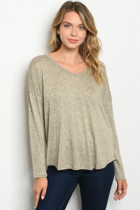 C47-B-2-T33519 TAUPE TOP 2-2-2