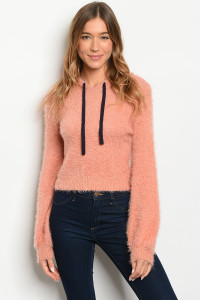 S14-5-4-S10082 SALMON SWEATER 3-2-1