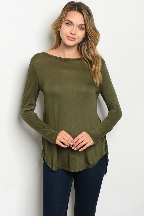 S9-15-5-T42116 OLIVE TOP 1-2-2-2