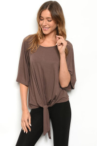 C46-A-1-T12149 BROWN TOP 1-2