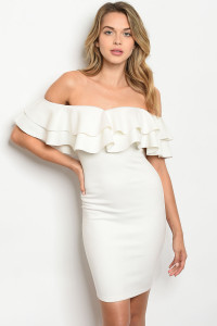 S15-3-3-D0304 OFF WHITE DRESS 3-2-1