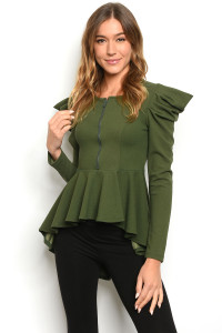 C92-A-1-T4595 OLIVE TOP 2-2