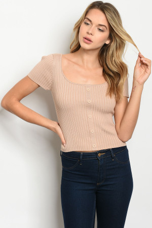 S23-3-3-T6253 TAUPE TOP 2-2-2