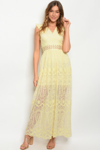 S9-15-2-D1381 YELLOW DRESS 3-2-2