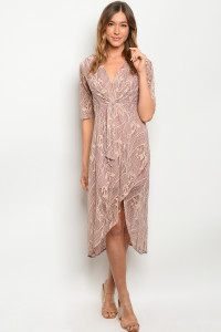 S10-7-4-D2641 NUDE MAUVE DRESS 2-2-2