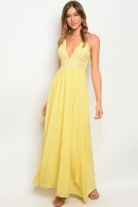 S9-3-1-D2365 YELLOW DRESS 2-2-2