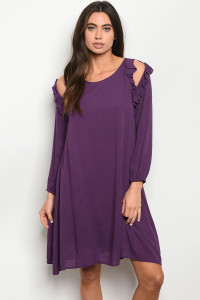 S8-2-4-D5991 PURPLE DRESS 2-2-2