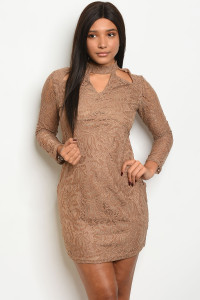 S5-3-3-D333 TAUPE DRESS 2-2-2