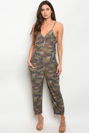 S8-12-2-J30272 BROWN CAMOUFLAGE JUMPSUIT 2-2-2