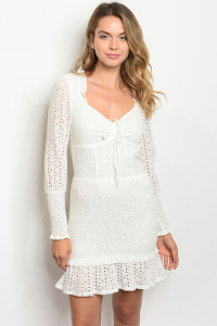 S9-1-2-D2674 OFF WHITE DRESS 3-2-1