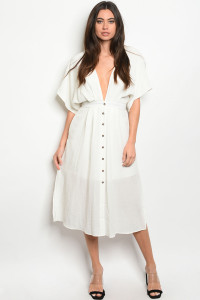 S14-11-5-D1890 OFF WHITE DRESS 3-2-1