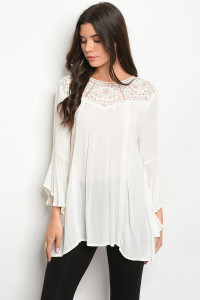 S15-3-3-T11761 OFF WHITE TOP 2-2-2