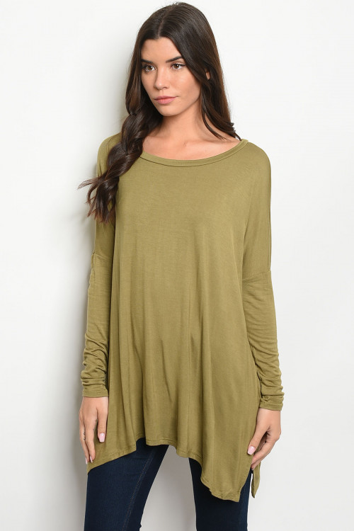 C13-A-1-T6243 OLIVE TOP 2-3-3