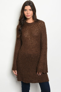 S7-9-1-T20087 BROWN SWEATER 2-2-2