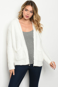 S14-10-3-S3372 IVORY FLEECE SWEATER 2-2