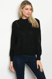 S22-7-1-S2384 BLACK SWEATER 4-3