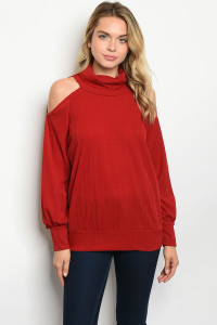 C73-A-4-T51149 BURGUNDY TOP 2-2-2