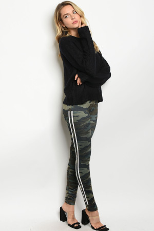 S21-1-2-L43577 CAMOUFLAGE FLEECE LEGGINGS 3-3