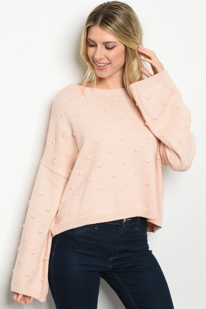 S20-8-2-S1598 BLUSH SWEATER 3-1