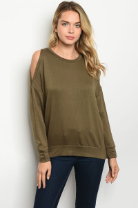 S9-6-4-T87181 OLIVE TOP 2-2-2