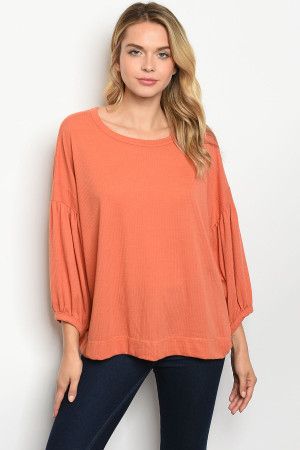 S16-3-5-T71131 APRICOT TOP 2-2-2