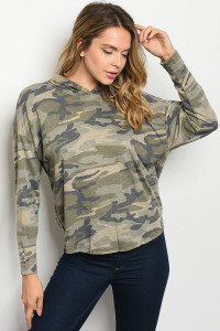 C7-B-1-T0636 CAMOUFLAGE TOP 4-2-1