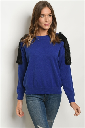 S10-10-1-S1220542 BLUE SWEATER 2-2-2