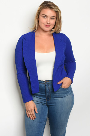 C14-B-2-B5994X ROYAL PLUS SIZE BLAZER 2-2-2