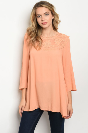 S13-8-1-T11850 APRICOT TOP 2-2-2