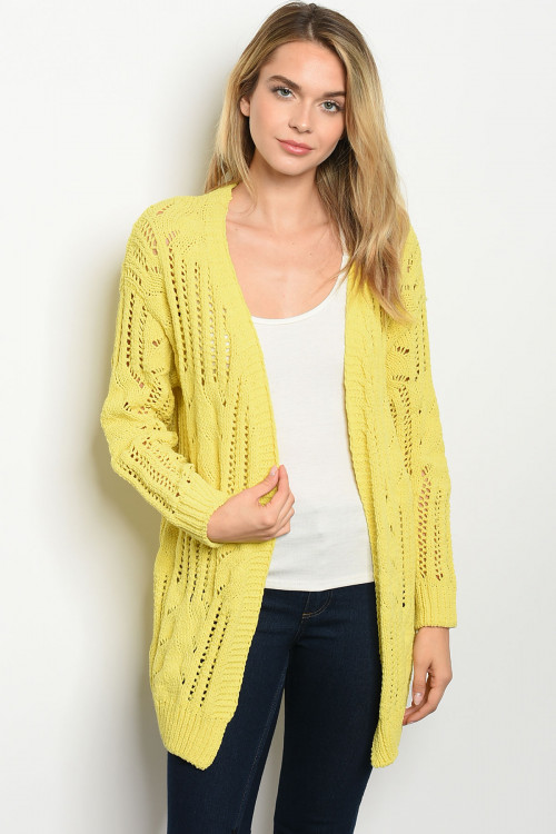 S11-12-2-S3366 YELLOW SWEATER 2-2-2
